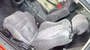 92 96 Dodge Stealth Complete Grey Cloth Seat Set front rear