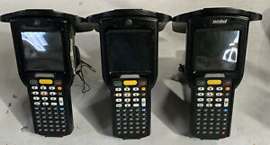 Lot Of 3 Motorola Mc319zus Rfid Barcode Scanner No Cradles Or Cables