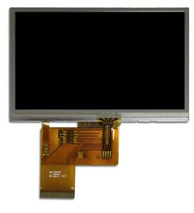 4 3 Lcd Tft With Resistive Touch
