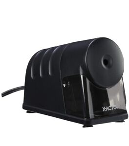 X acto Model 1799 Powerhouse Heavy duty Electric Pencil Sharpener Black