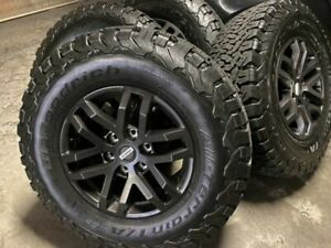 5x Brand New Ford Ranger Raptor 2020 Rims 17 285 70 17 Ko2 Bfg Tyres Wildtrak
