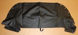 New Black Convertible Top Cover 1 2 Tonneau Cover Mgb 1971 80 Made In Uk