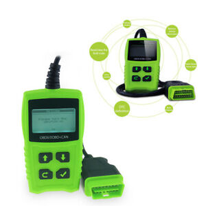 Lcd Obdii Scanner Car Trouble Code Reader Diagnostic Scan Tool Multi Language