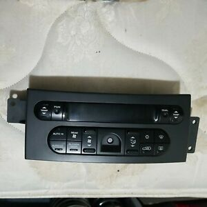 2007 2008 Chrysler Pacifica A c Heater Climate Control Unit P 05005469ab Oem