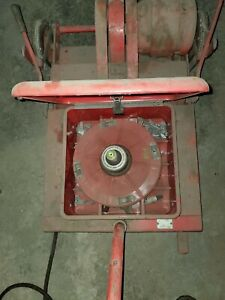 Hunter Engineering Vintage Wheel Balancer On Vehicle