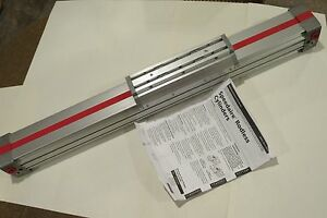 New Speedaire 3fe41a Rodless Cylinder 2 bore 18 Stroke Double Acting Aluminum