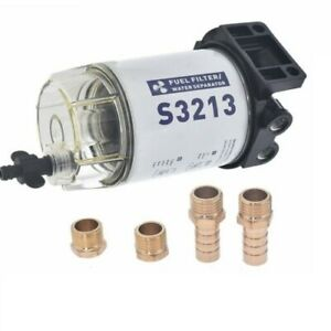 3 8 Npt Fuel Filter Water Separator System S3213 For Marine Outboard Motor Us