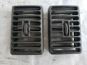 97 02 Jeep Wrangler Tj Outer Dash Air Vents Panel A c Heat Vent Oem Pair Gray