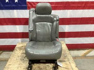 2002 Cadillac Escalade Front Right Passenger Leather Seat Lt Edge Wear