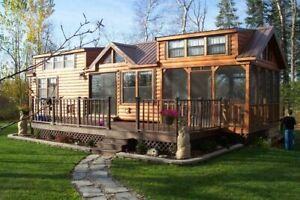 Cabin Tiny Home many Styles Movable Pre fab For Your Lot property Part Furn