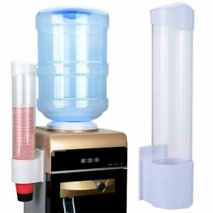 Water Dispenser Automatic Water Cup Holder Disposable Paper Cup Holder Plastic