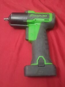 Snap On Ct761ag 14 4v 3 8 Cordless Green Impact Driver W Battery Tested Works