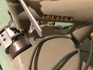 Used Consew Skiver Dcs s2 Industrial Sewing Machine