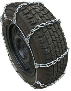 Snow Chains P195 75r15 195 75 15 Cable Link Tire Chains Priced Per Pair