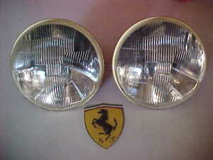 Ferrari 275 Carello Headlamp Headlight Bulbs03 490 700newpairgenuinerare