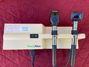 Welch Allyn 767 Series Wall Transformer Otoscope Opthalmoscope 120v Works 100