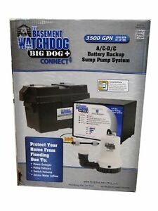 The Basement Watch Dog Bwd12 120c Battery Backup Sump Pump System
