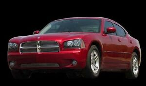 Carriage Works 42512 2006 10 Dodge Charger Polished Replacement Grille