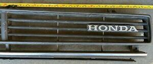 Vintage Honda Grille Grill Accord Civic Prelude 1970s 1980s Vintage Old