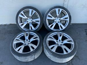 20 Rim Wheel Rims Wheels Set 20 Inch Factory Infiniti M37 M56 Q70 Oem 11 19