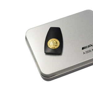 New Fit Mercedes Benz Amg Remote Key Fob Back Cover Gold Affalterbach 3d Logo