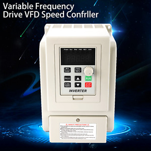 1 5kw Vfd Variable Frequency Drive Inverter Speed Controller Converter Us Ship