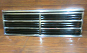 Dodge Caravan Plymouth Voyager 1987 1988 1989 1990 Chrome Front Grille