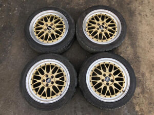Bbs Lm Gold 17x7 5 5x100 Et48 Without Tires