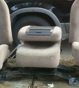 92 96 Ford F150 F250 Jump Seat Eddie Bauer Tan Mocha Extended Cab Or Bronco
