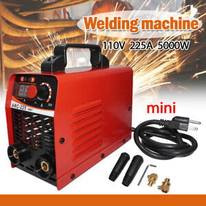 Handheld Mini Electric Welding Machine Igbt 110v Inverter Arc Mma Stick Welder
