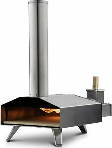 Uuni 3 Portable Wood Fired Outdoor Pizza Oven With Pellets Cover Gloves
