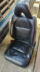 2000 2001 2002 2003 Acura Tl Type S Black Front Driver Seat Leather Srs
