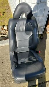 2000 2001 2002 2003 Acura Tl Type S Black Front Passenger Seat Leather Srs