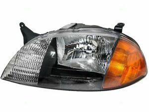 Brock 24st22t Left Headlight Assembly Fits 1998 2001 Chevy Metro