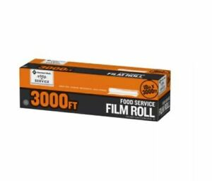 Food Storage Plastic Cling Wrap Roll 18 X 3 000 Foodservice Film Service
