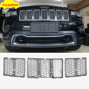 For Jeep Grand Cherokee 2014 2016 Honeycomb Front Grille Car Grill Mesh Insert