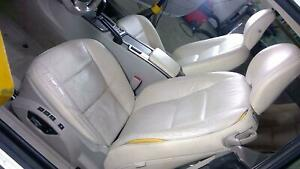 06 13 Volvo C70 Convertible Leather Seat Set Front Rear Power Heated Memory