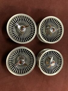 Corvette Knockoff Wheels With Tires Complete Set 1963 1966 Wheels Hubs Spinners