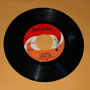 Laura Lee Two Lovely Pillows Rip Off 45 rpm Hot Wax Record Ex Vinyl 7quot; $7.11