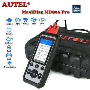 Autel Md806 Pro All System Car Code Reader Obd2 Scanner Diagnostic Service Tool