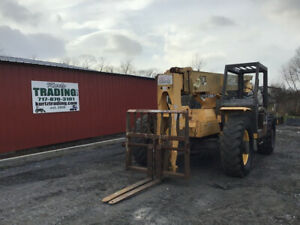 2001 Gehl 663 4x4 6000lb Telescopic Forklift Cheap