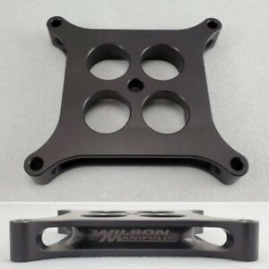 Wilson Manifolds 014210 390 Carb Spacer 1 Tapered Lightweight 1 55 Bore New
