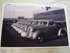 1937 Studebaker Dictator Coupe Line Up 11 X 17 Photo Picture