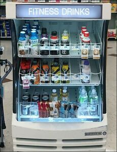 Beverage air Bz13 1 w 30 White Breeze Open Refrigerated Display Case Fitness