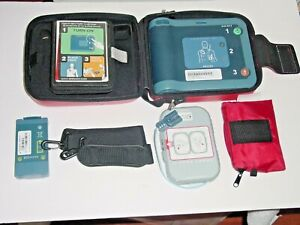 Philips 861304 Heartstart Frx Aed Bundle W 2021 Battery New Pads Case straps