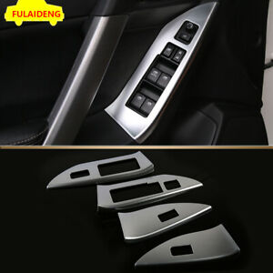 For Subaru Forester 2013 2018 Abs Interior Window Lift Panel Switch Frame Trim