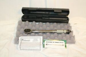 Pittsburg Torque Wrench With Case 20 200 Pounds