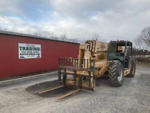 2010 Gehl Dl 10h55 10000lb 55ft Telescopic Forklift Only 4600 Hours