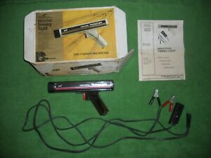 Vintage Sears Craftsman Inductive Timing Light 161 213400 W box Manual Vgc
