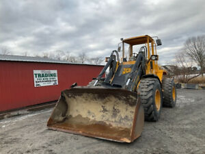 1998 Jcb 436 Tool Carrier Wheel Loader W Coupler Clean Only 5900 Hours